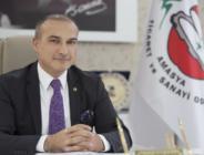 Amasya Ticaret ve Sanayi Odası (ATSO) Yönetim Kurulu Başkanı Murat Kırlangıç yeni yıl dolayısıyla bir mesaj yayımladı