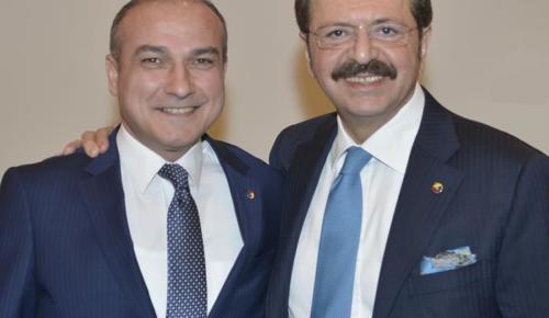 TOBB Başkanımız Sayın Rifat Hisarcıklıoğlu'nu yürekten kutluyor, hayırlı olmasını diliyorum.