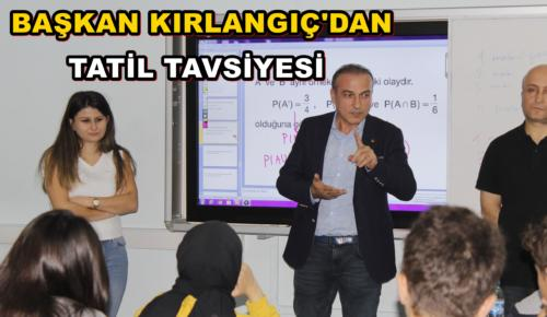 Amasya Ticaret ve Sanayi Odası (ATSO) Yönetim Kurulu Başkanı Murat Kırlangıç, il genelinde karne heyecanı yaşayan öğrencilere ve öğretmenlere yayınladığı mesajla iyi tatiller diledi.