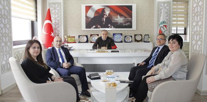 Türk Ekonomi Bankası (TEB) Başkan Kırlangıç'ı Ziyaret Etti