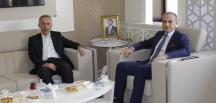 Taşova Belediye Başkanı Bayram Öztürk Başkan Kırlangıç'ı Ziyaret Etti