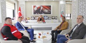 Türk Kızılay Amasya Şubesinden Başkan Kırlangıç'a Ziyaret