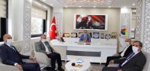 GELECEK PARTİSİ BAŞKAN KIRLANGIÇ'I ZİYARET ETTİ