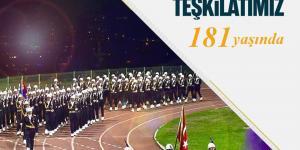 Jandarma teşkilatımızın 181'inci kuruluş yıl dönümü kutlu olsun.