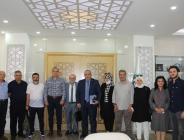 Amasya Dernekler Konfederasyonu Kurucu Heyet Başkanları Amasya TSO'yu Ziyaret Ettiler