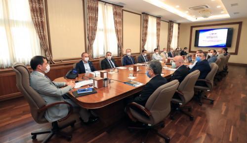 Başkan Kırlangıç İl İstihdam ve Mesleki Eğitim Kurulu Toplantısına Katıldı