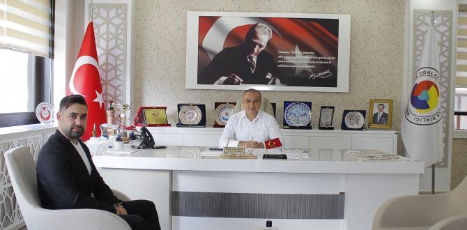 İşletme Sahibinden Başkan Kırlangıç'a Ziyaret