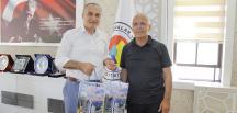 HOPA TSO BAŞKANI AMASYA TSO BAŞKANI KIRLANGIÇ'I MAKAMINDA ZİYARET ETTİ