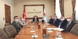 ATSO Başkanı Kırlangıç Amasya İli Ekonomik Toplantısına Katıldı