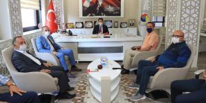 Tarım Sektörü Temsilcileri ve Vali Mustafa Masatlı Amasya TSO'da Buluştu
