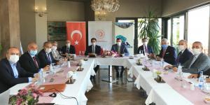 ATSO Başkanı Murat Kırlangıç Orta Karadeniz Kalkınma Ajansı (OKA) Toplantısına Katıldı.