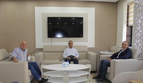 Silverline Yönetimden Başkan Kırlangıç'a Ziyaret