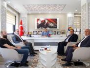Milliyetçi Hareket Partisi Amasya İl Yönetimi Amasya TSO'yu Ziyaret Etti