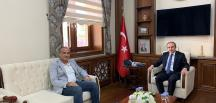 BAŞKAN KIRLANGIÇ BAYBURT VALİSİ CÜNEYT EPCİM'İ ZİYARET ETTİ