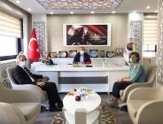 Aile, Çalışma ve Sosyal Hizmetler İl Müdürü Ahmet Kurt, Amasya TSO'yu Ziyaret Etti