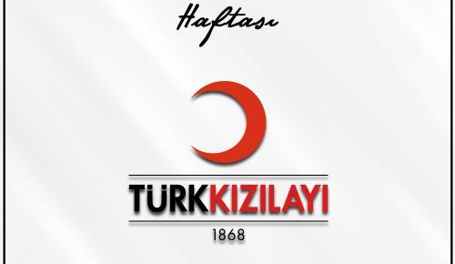 Türk Kızılay'ımızın 29 Ekim-4 Kasım Kızılay Haftası Kutlu Olsun