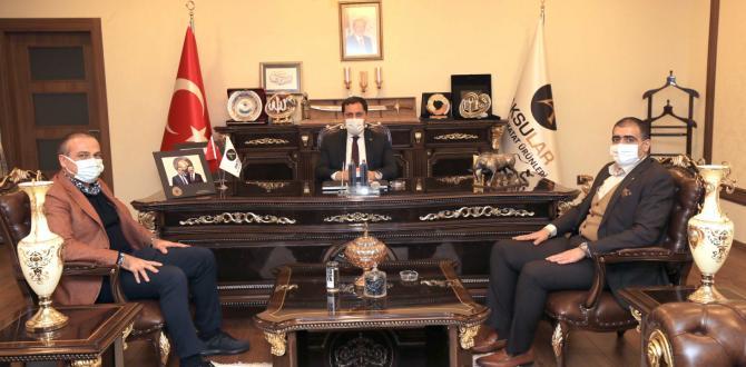 ATSO Başkanı Murat Kırlangıç İlimiz Ekonomi Üst Kurulu Toplantısına Katıldı