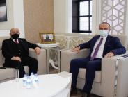 Mustafa Levent Karahocagil Amasya TSO'yu Ziyaret Etti
