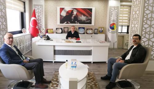 İşletme Sahibi Başkan Kırlangıç'ı Ziyaret Etti