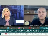 AMASYA TSO BAŞKANI MURAT KIRLANGIÇ BENGÜTÜRK TV'DE AMASYA'YI KONUŞTU