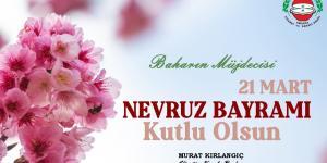 Nevruz Bayramı Kutlu Olsun