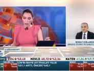 BAŞKAN KIRLANGIÇ BLOOMBERGHT TV YAYININA TELEFON BAĞLANTISI İLE KATILDI