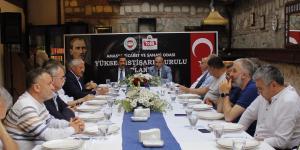 Amasya Ticaret ve Sanayi Odası Yüksek İstişare Kurulu Toplantısı Yapıldı