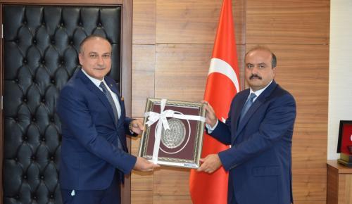 Başkan Kırlangıç Üyelerin İstek ve Beklentilerini Bakan Yardımcısı Metin'e Aktardı