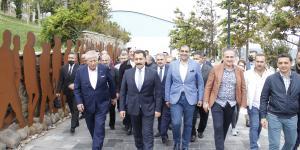 ATSO'DAN DEMOKRASİ VE ÖZGÜRLÜKLER ADASI'NA ZİYARET